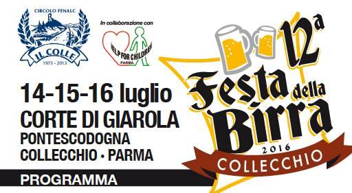 12ª edizione della Festa della Birra Collecchio (Parma) 13615410