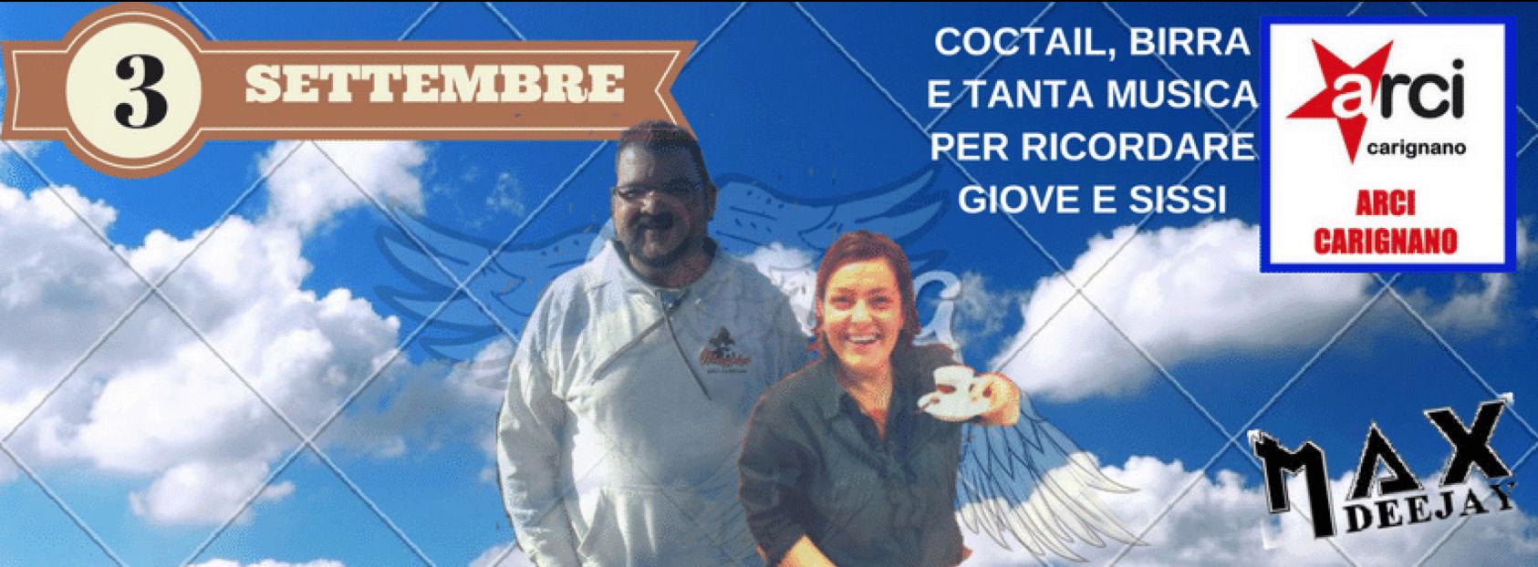 Arci Carignano, sabato 3 settembre si ricordano Sissi e Giove Gioves10