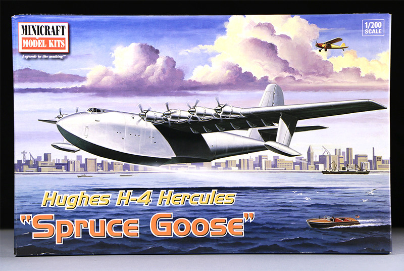 "Hughes H-4 Hercules ""Spruce goose"" (1/200ème - Minicraft Model Kits) Img_9336"