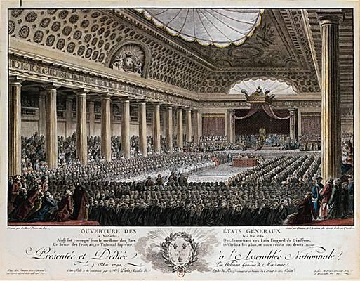 Le 5 mai 1789 : ouverture des Etats Généraux 10099810