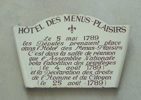 Le 5 mai 1789 : ouverture des Etats Généraux 13466210