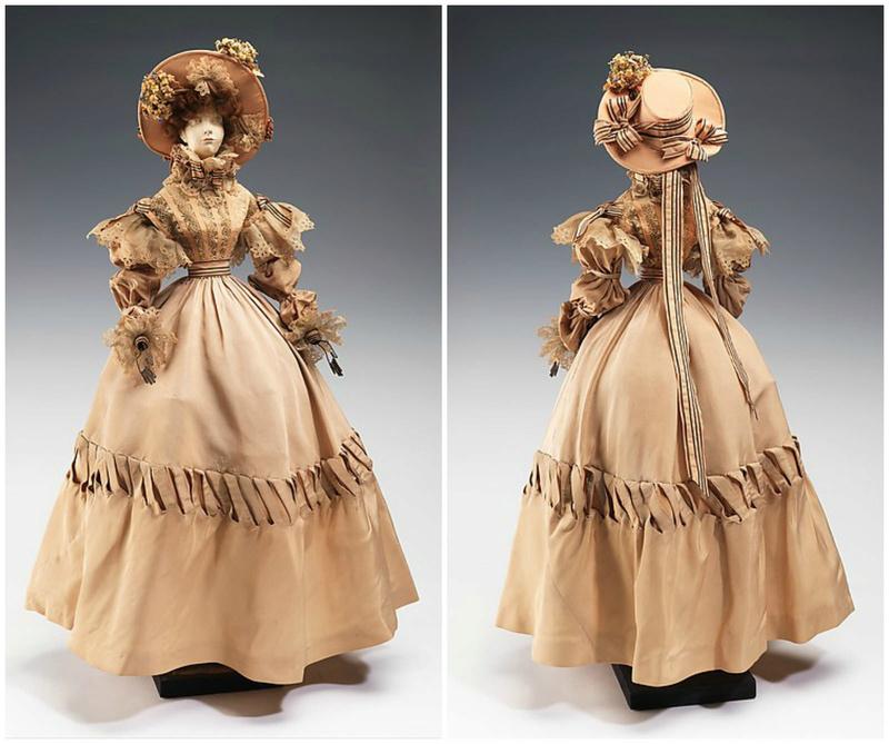 Mannequins et poupées de mode au XVIIIe siècle 27479710