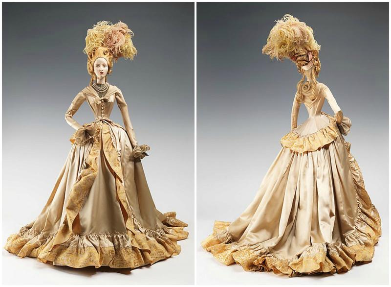 Mannequins et poupées de mode au XVIIIe siècle 27991311