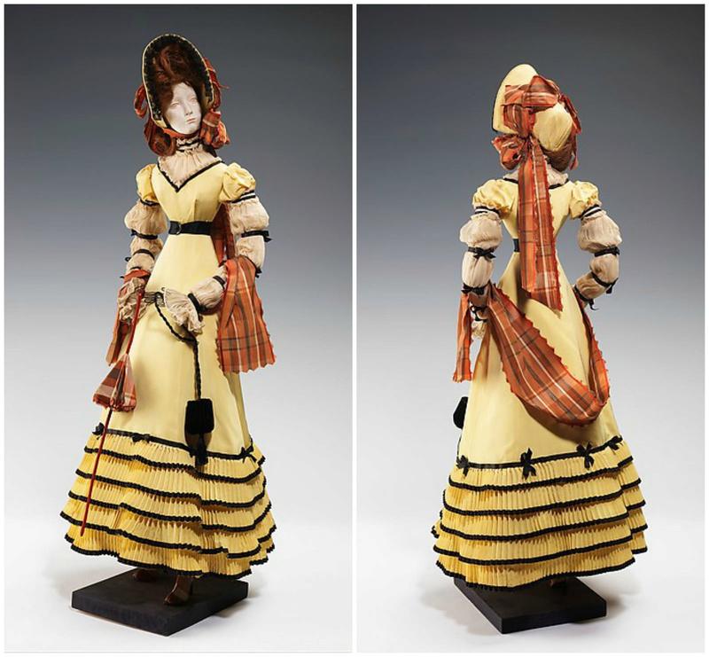 Mannequins et poupées de mode au XVIIIe siècle 27991312