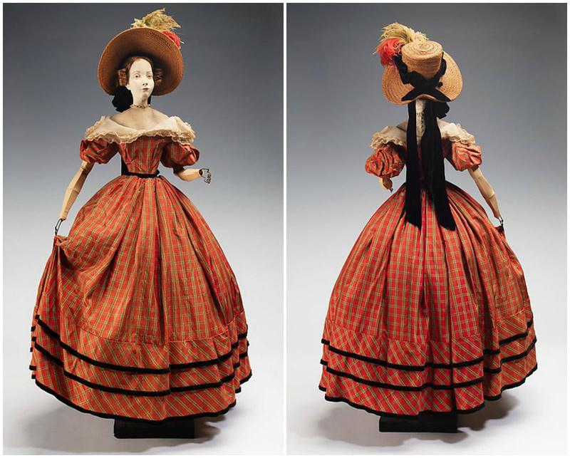 Mannequins et poupées de mode au XVIIIe siècle 27991313