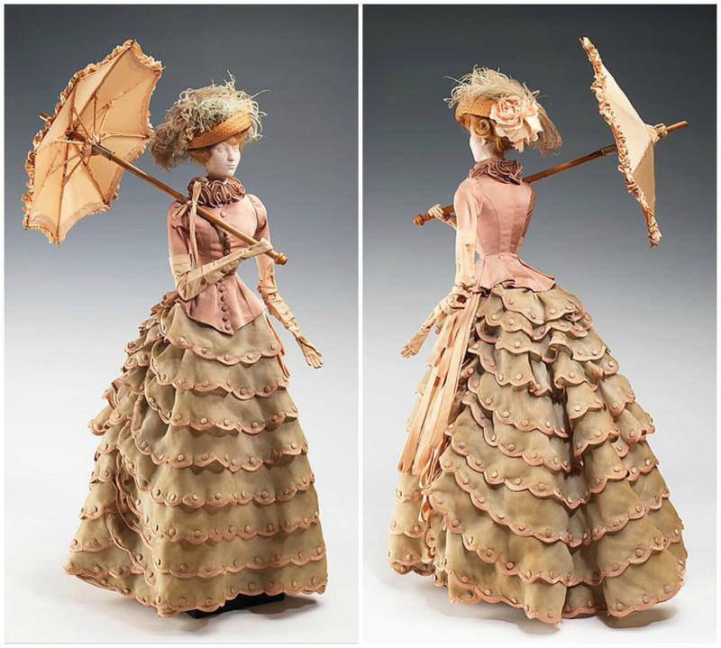 Mannequins et poupées de mode au XVIIIe siècle 28060010