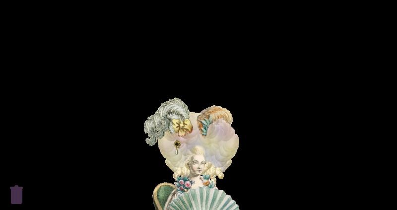 Amusement : Création d'une perruque à la mode du XVIIIè siècle Canvas10