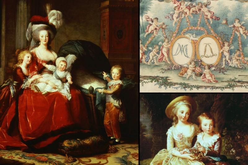 Marie-Antoinette , la première reine maman de l'histoire de France La-rei10