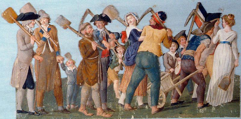 fédération - La Fête de la Fédération (14 juillet 1790)  Prepar10