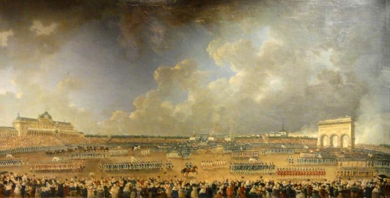 fédération - La Fête de la Fédération (14 juillet 1790)  Ryvolu10