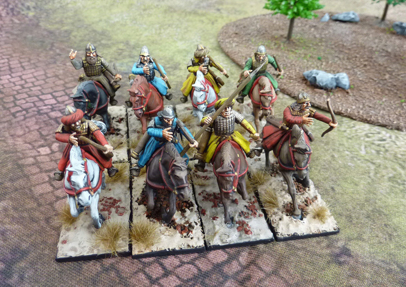 [VENDU] 8 cavaliers arabes bien peints pour saga P1040519