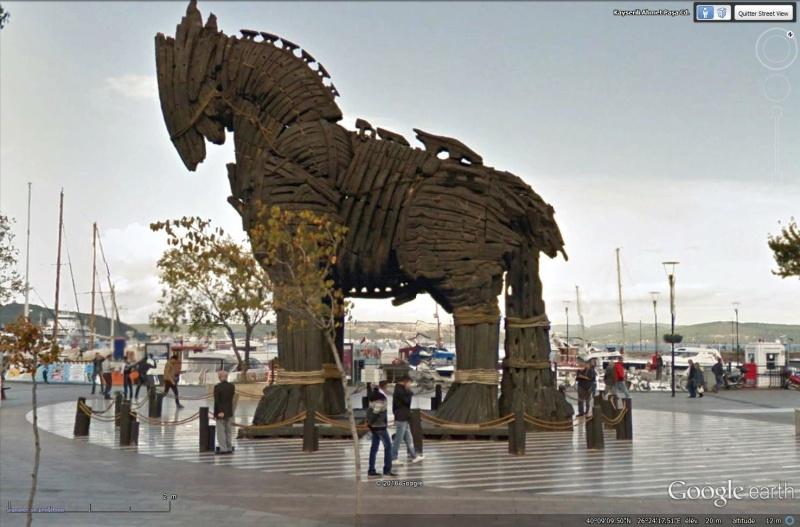 Cheval de Troie à Canakkale - Turquie Sans_t24