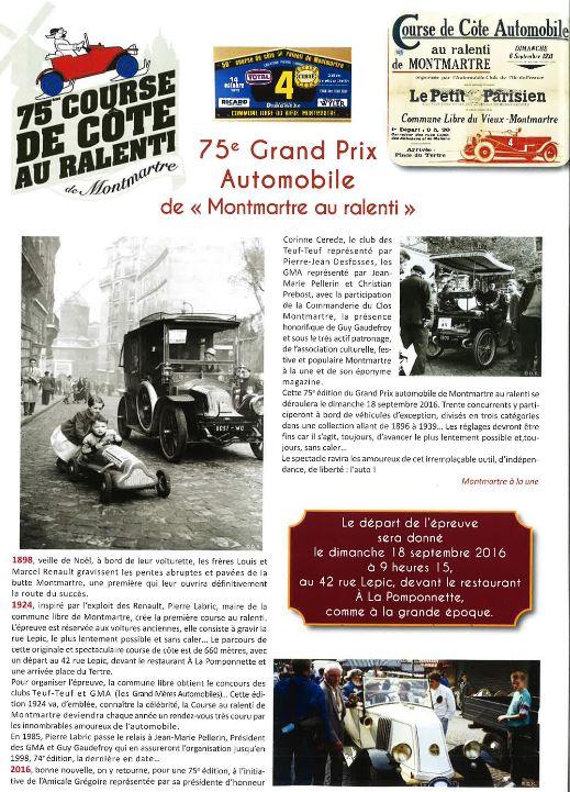Montmartre au ralenti ! 18 Septembre 2016 Captu313