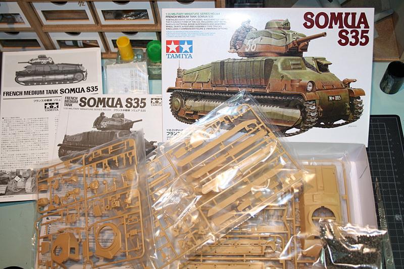 Somua S35 Tamiya 1/35 Img_6135