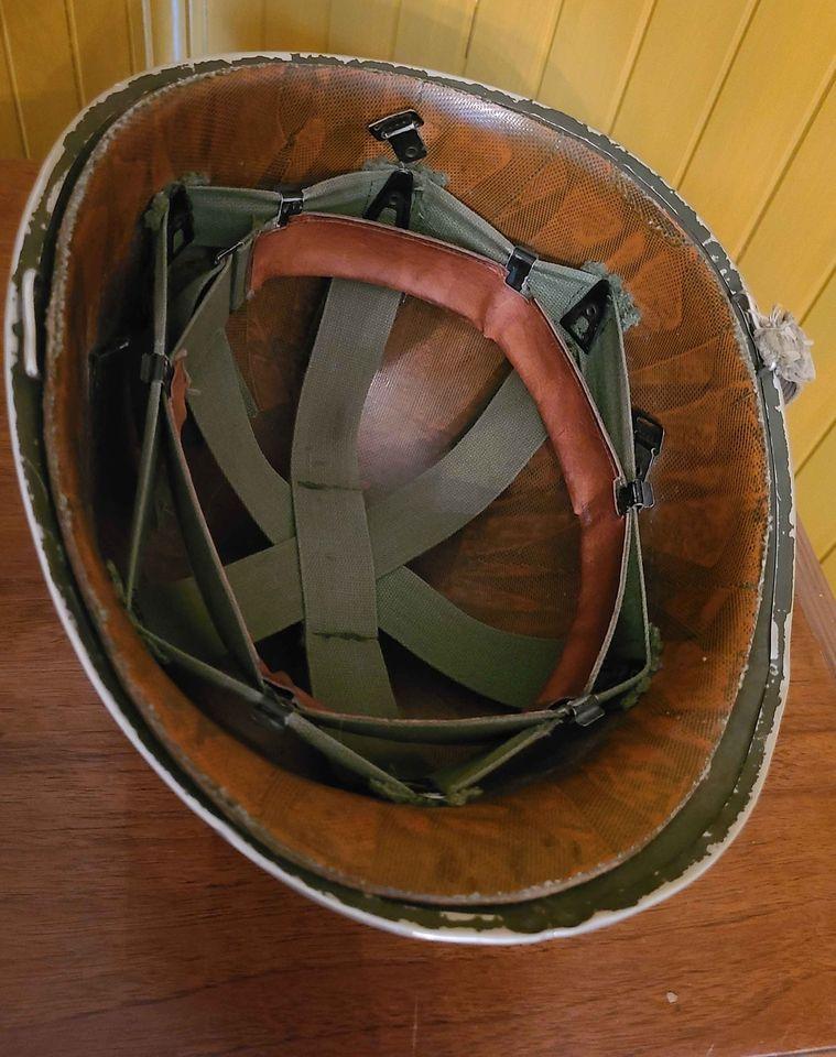 Casque M1 - WWII ? VN ?  18577110
