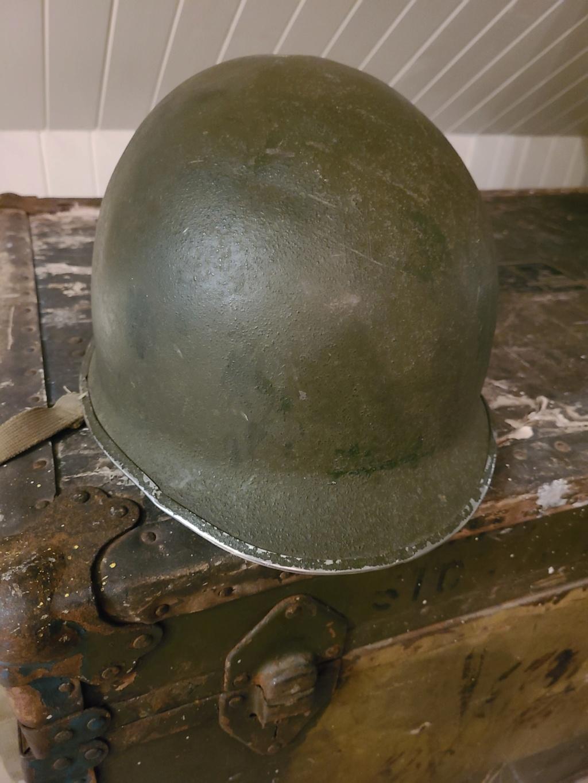 Casque M1 - WWII ? VN ?  18579610