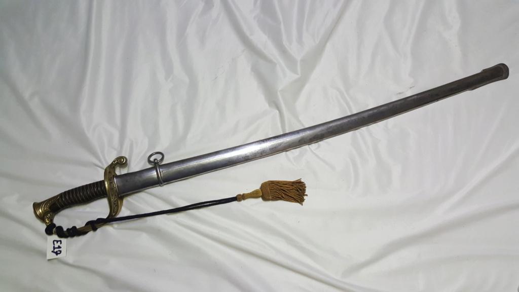 [NOUVELLES PHOTOS] Nombreuses épées à identifier E17-a10