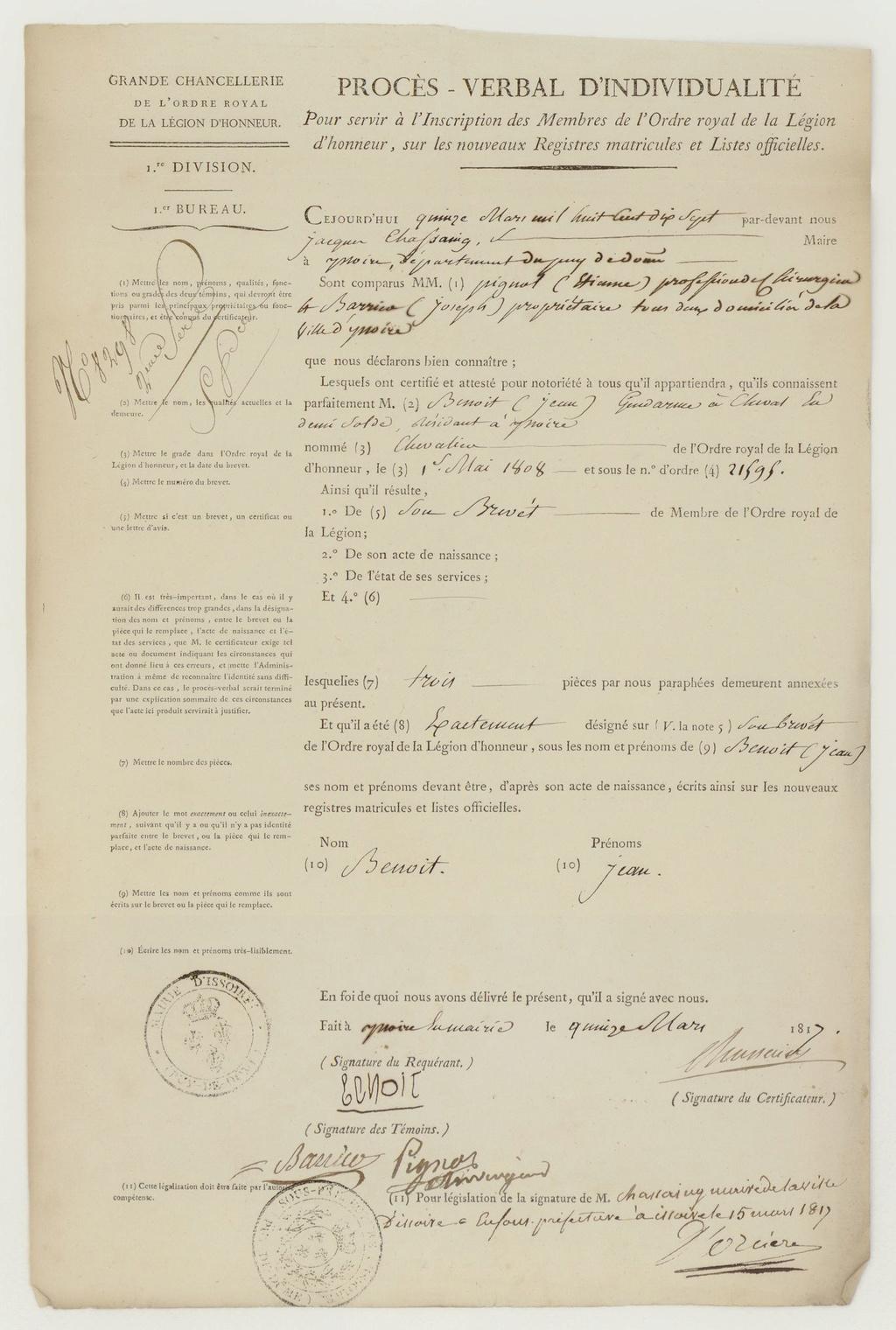Ensemble gendarme impérial (1er Empire / Restauration) Frdafa10
