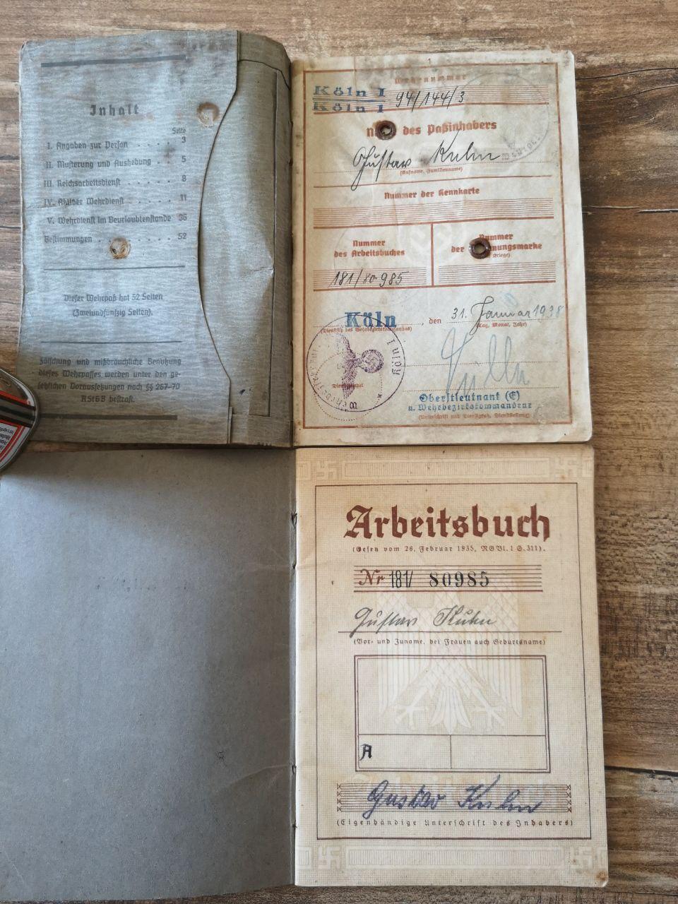 Identif Wehrpass & Arbeitsbuch (Strasbourg) Photo_24