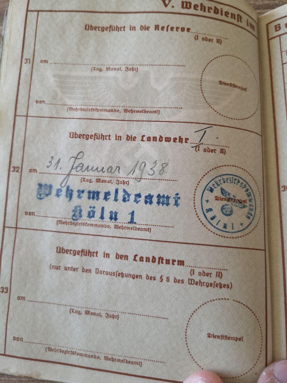 Identif Wehrpass & Arbeitsbuch (Strasbourg) Photo_30