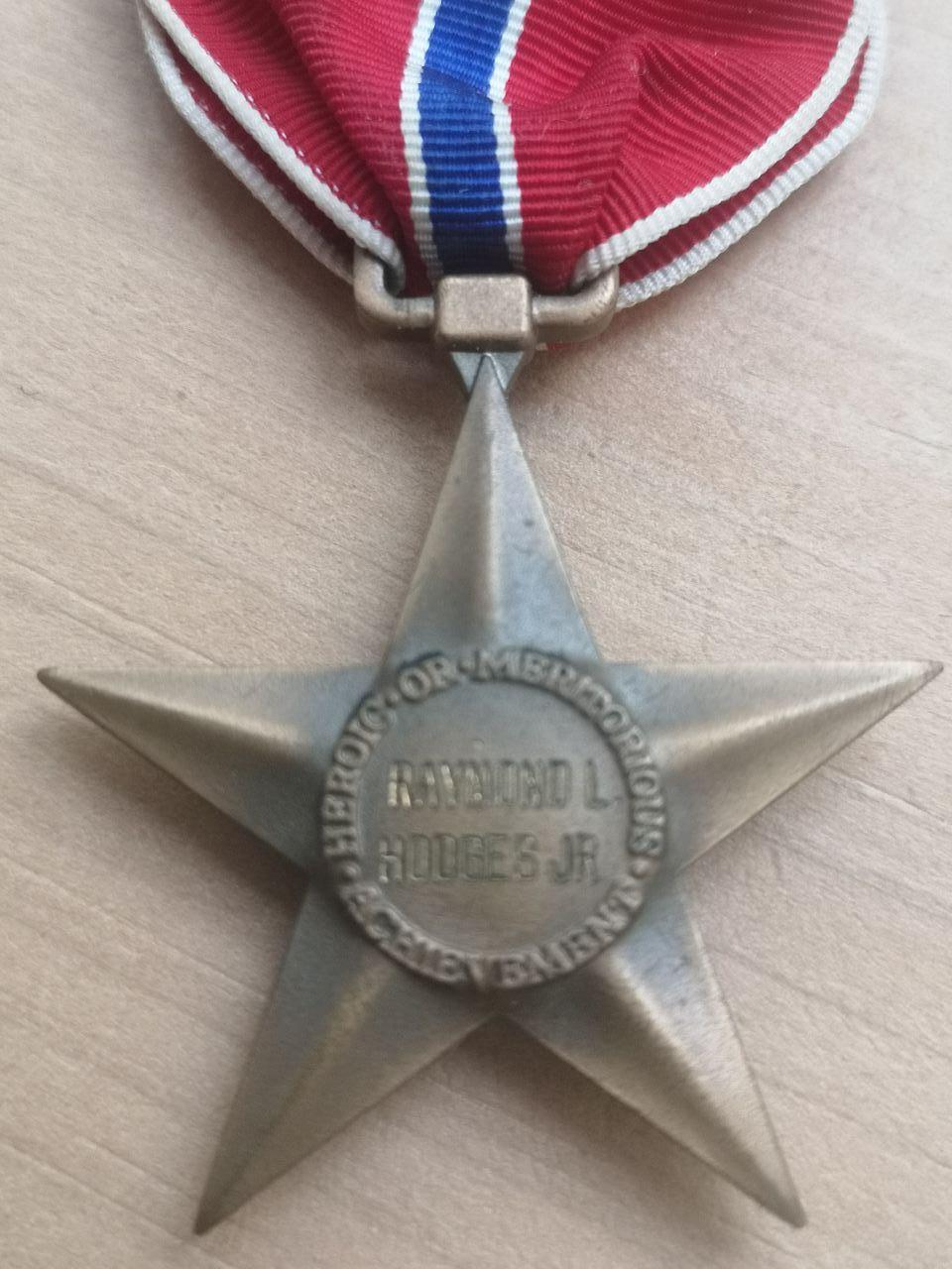 Bronze Star nominative - slot Brooch Photo_51