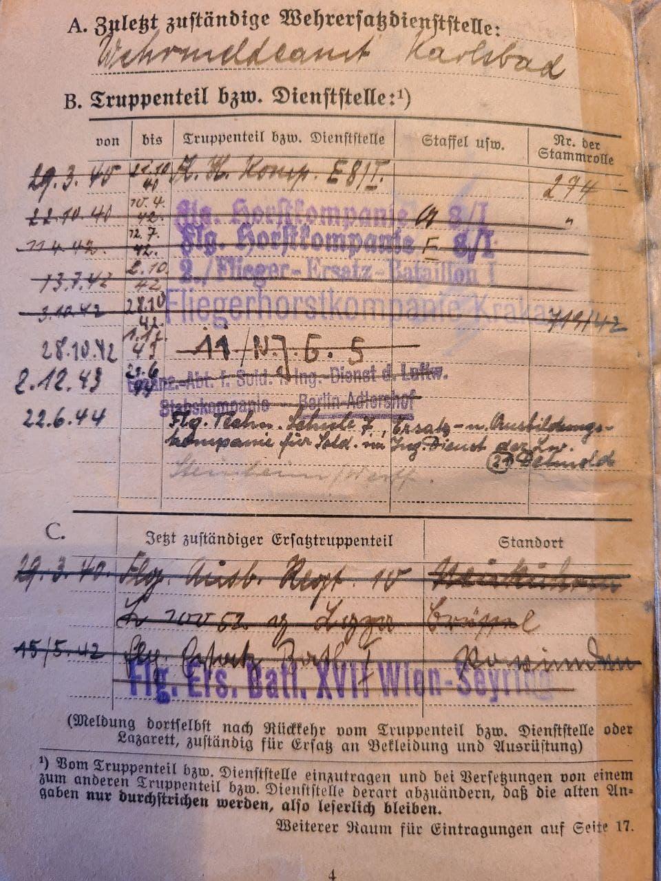 [Besoin d'informations] Soldbuch Luftwaffe Nachtjagdgeschwader 5 Photo_66