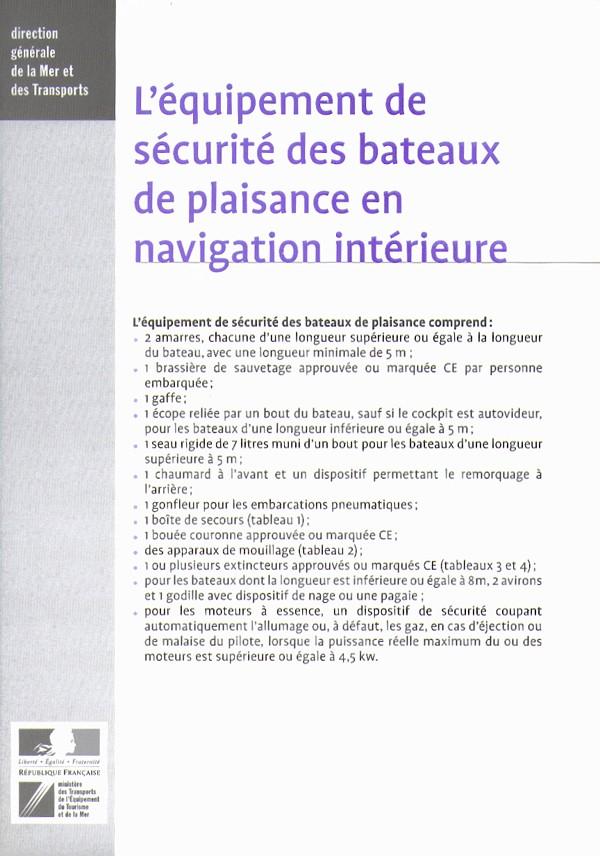 Equipement de sécurité 1scr110