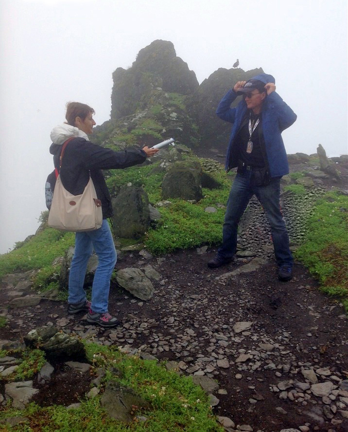 From Ahch-To to Skellig Michael (Star Wars, Episodes VII et VIII) Looking for Luke Skywalker -111