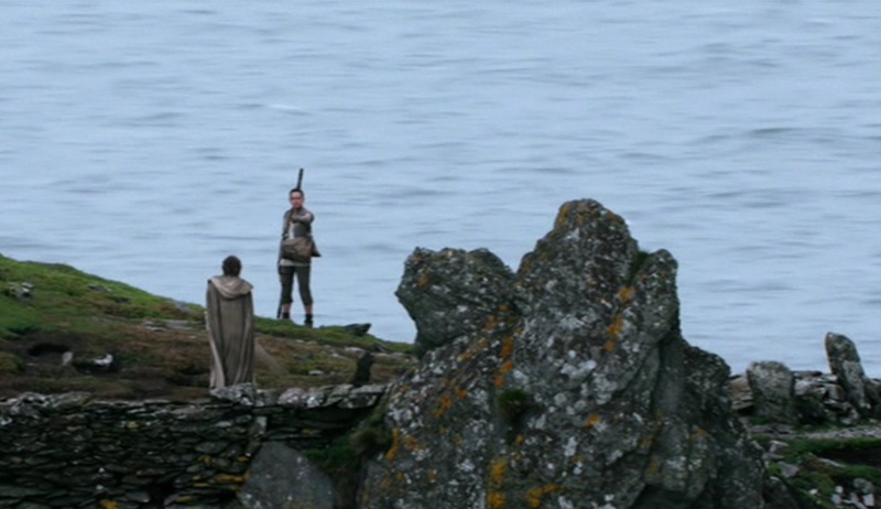 From Ahch-To to Skellig Michael (Star Wars, Episodes VII et VIII) Looking for Luke Skywalker 18-20110