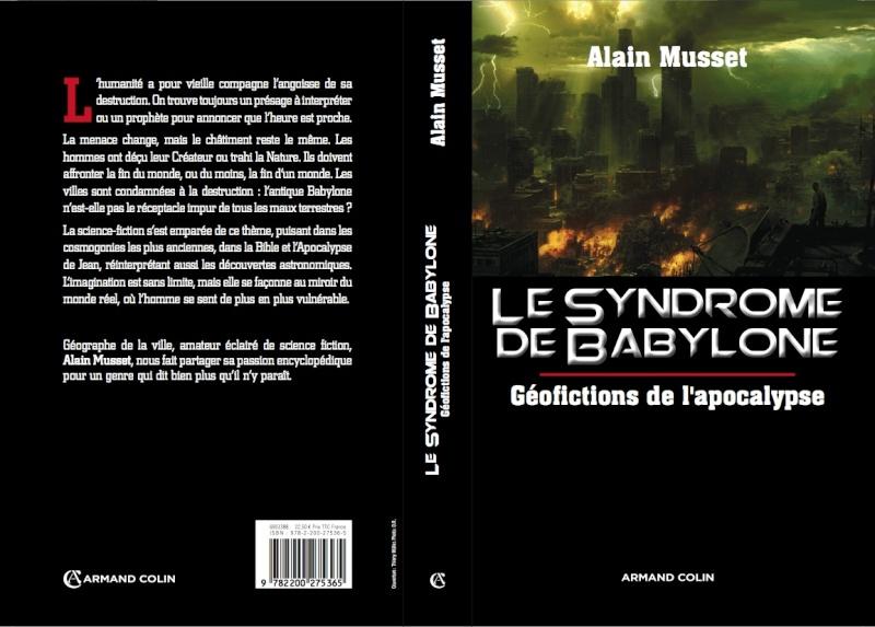 Le syndrome de Babylone. Géofictions de l'apocalypse 2012-m10
