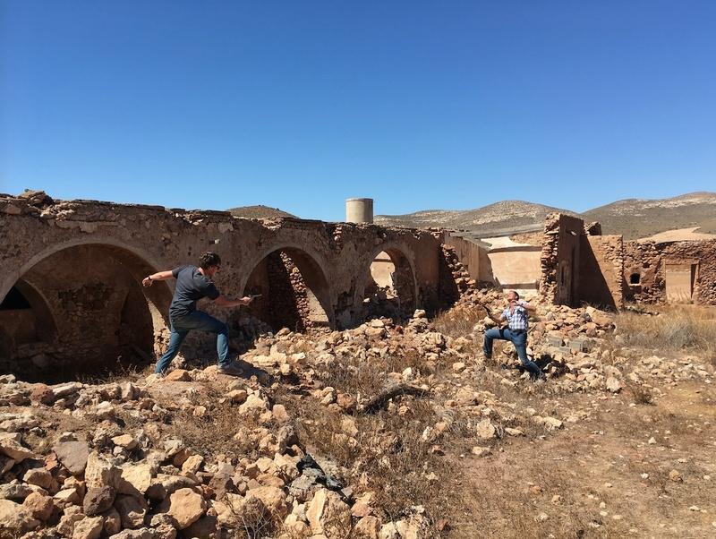 Il était une fois au nord d'Almeria… Sur les traces de Sergio Leone et du western spaghetti Cortij10