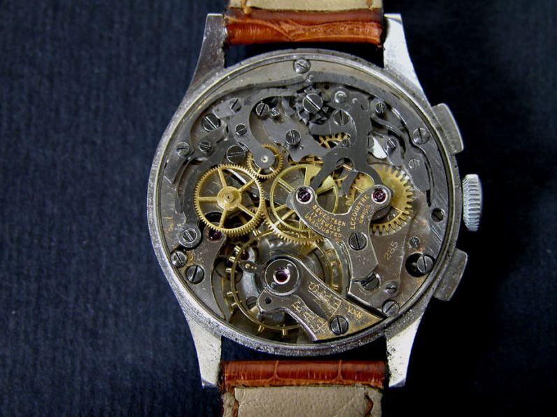 Un chrono Lecoultre signé Cartier Qqq10