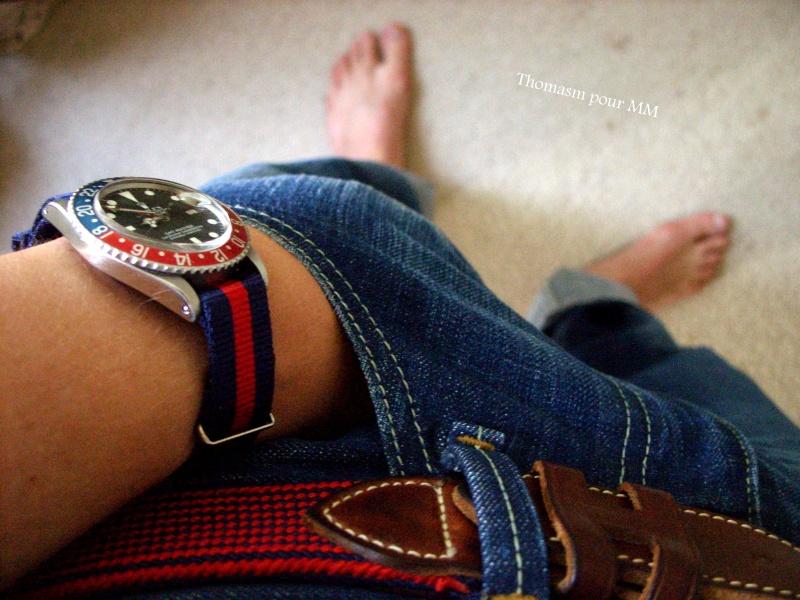 Rolex Vintage et Nato ! Ss857125