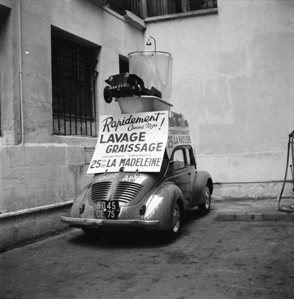 Des photos d'époque de Concessions Mercedes-Benz partie 1 - Page 28 P34510