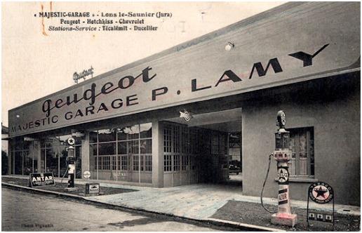Des photos d'époque de Concessions Mercedes-Benz partie 1 - Page 28 P35910