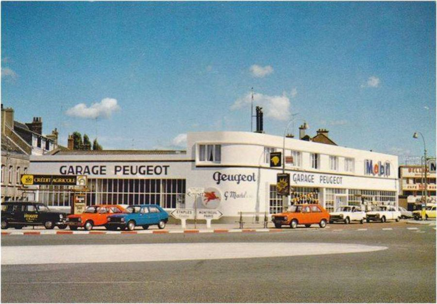 Des photos d'époque de Concessions Mercedes-Benz partie 1 - Page 34 P47010