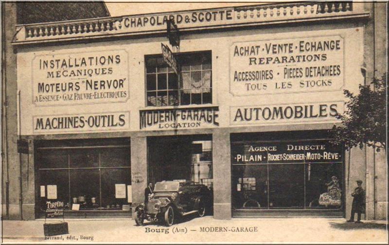 Des photos d'époque de Concessions Mercedes-Benz partie 1 - Page 34 P47110