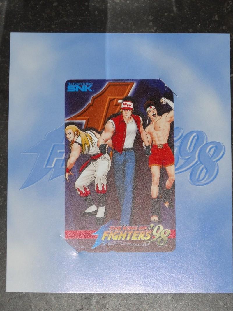 PHONE CARD NON-OFFICIELLE SNK  Dsc03512