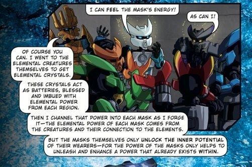 [Culture] Un troisième livre Bionicle est annoncé Mask10