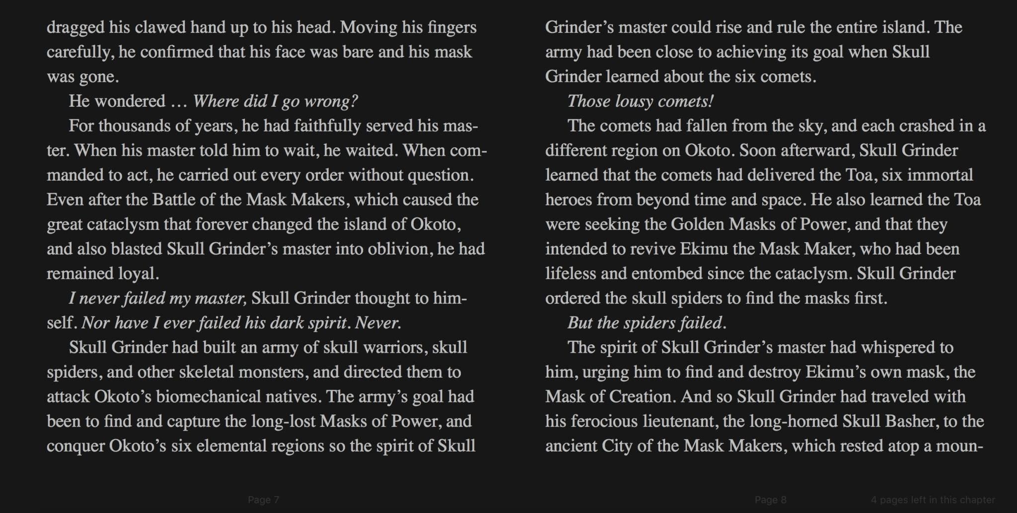 [Culture] Un troisième livre Bionicle est annoncé Ytdo9z10