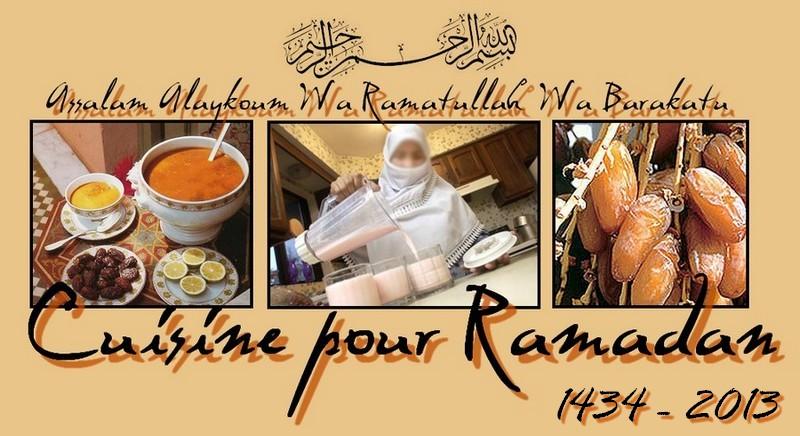 Cuisine pour Ramadan