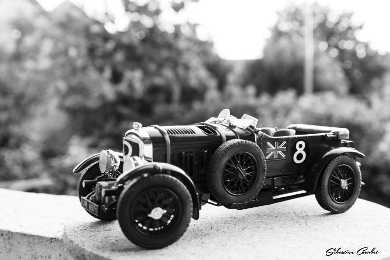 Bentley 4,5L Blower, n°8 Le Mans 1930 Bentle14
