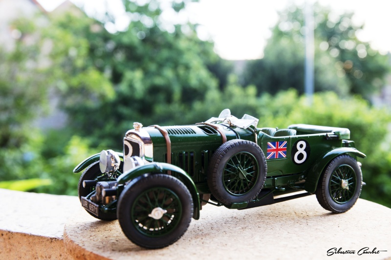 Bentley 4,5L Blower, n°8 Le Mans 1930 Bentle15