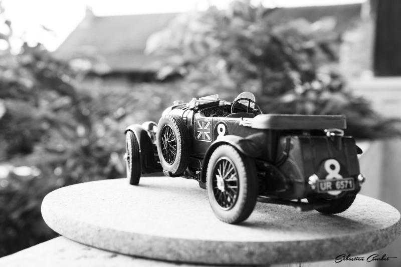 Bentley 4,5L Blower, n°8 Le Mans 1930 Bentle16
