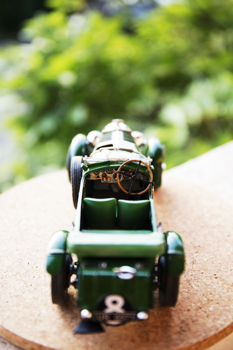 Bentley 4,5L Blower, n°8 Le Mans 1930 Bentle19