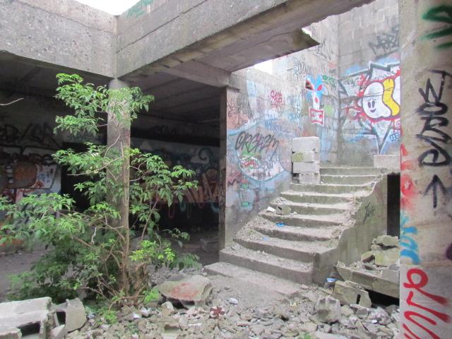 PIROU PLAGE le village fantôme dans la manche Img_0027