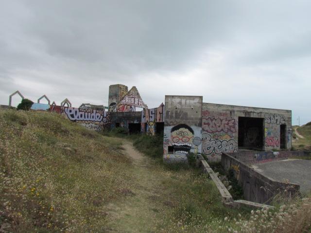 PIROU PLAGE le village fantôme dans la manche Img_0048