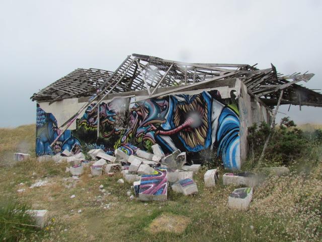PIROU PLAGE le village fantôme dans la manche Img_0057