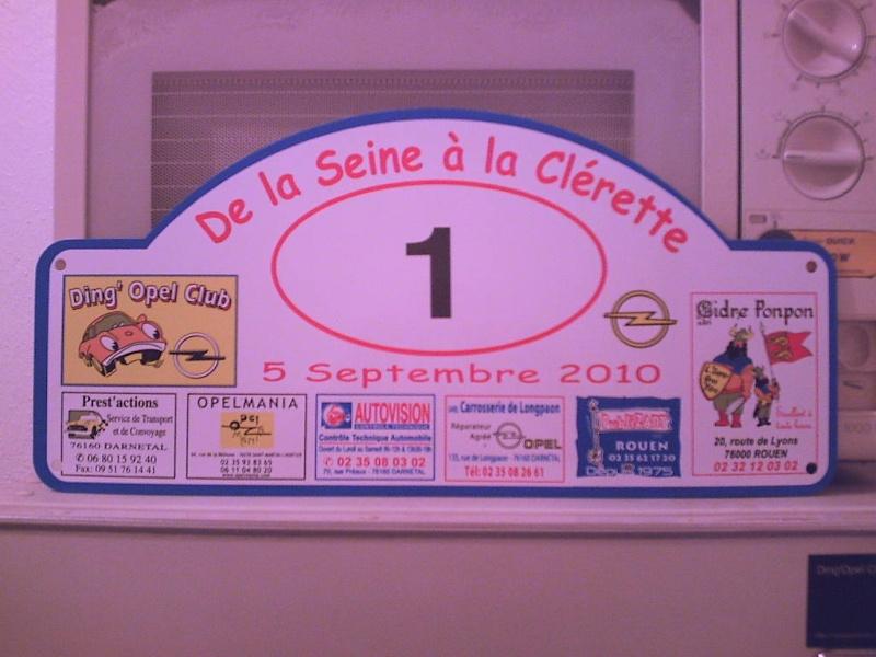 """le 5 septembre 2010 , le DOC fait son rallye """"De la Seine à la Clérette """" et fète les CIH 6 pattes ! - Page 3 Plaque10"""