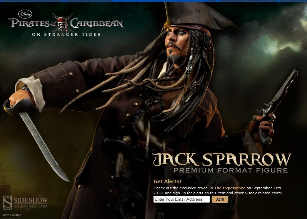 JACK SPARROW ' On stranger tides ' Premium format new 2013 Jack_s10